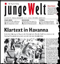 junge Welt, 18. April 2011