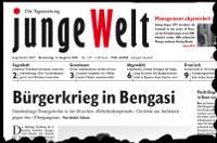 junge Welt, 2. August 2011