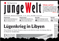 junge Welt, 24. August 2011