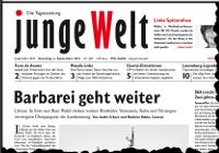 junge Welt, 6. September 2011