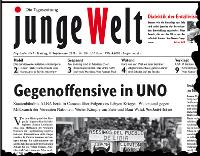 junge Welt, 9. September 2011
