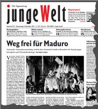 junge Welt, 21. November 2013