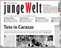 junge Welt, 14. Februar 2014