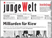 junge Welt, 15. April 2014