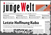 junge Welt, 13. September 2014