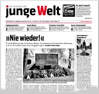 junge Welt, 4. Mai 2015
