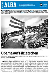 ALBA-Beilage der Tageszeitung junge Welt, 22. Juli 2015