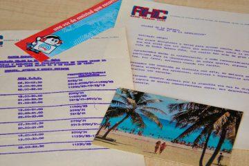 Ende der 80er Jahre noch analog: Post an den Autor von Radio Habana Cuba